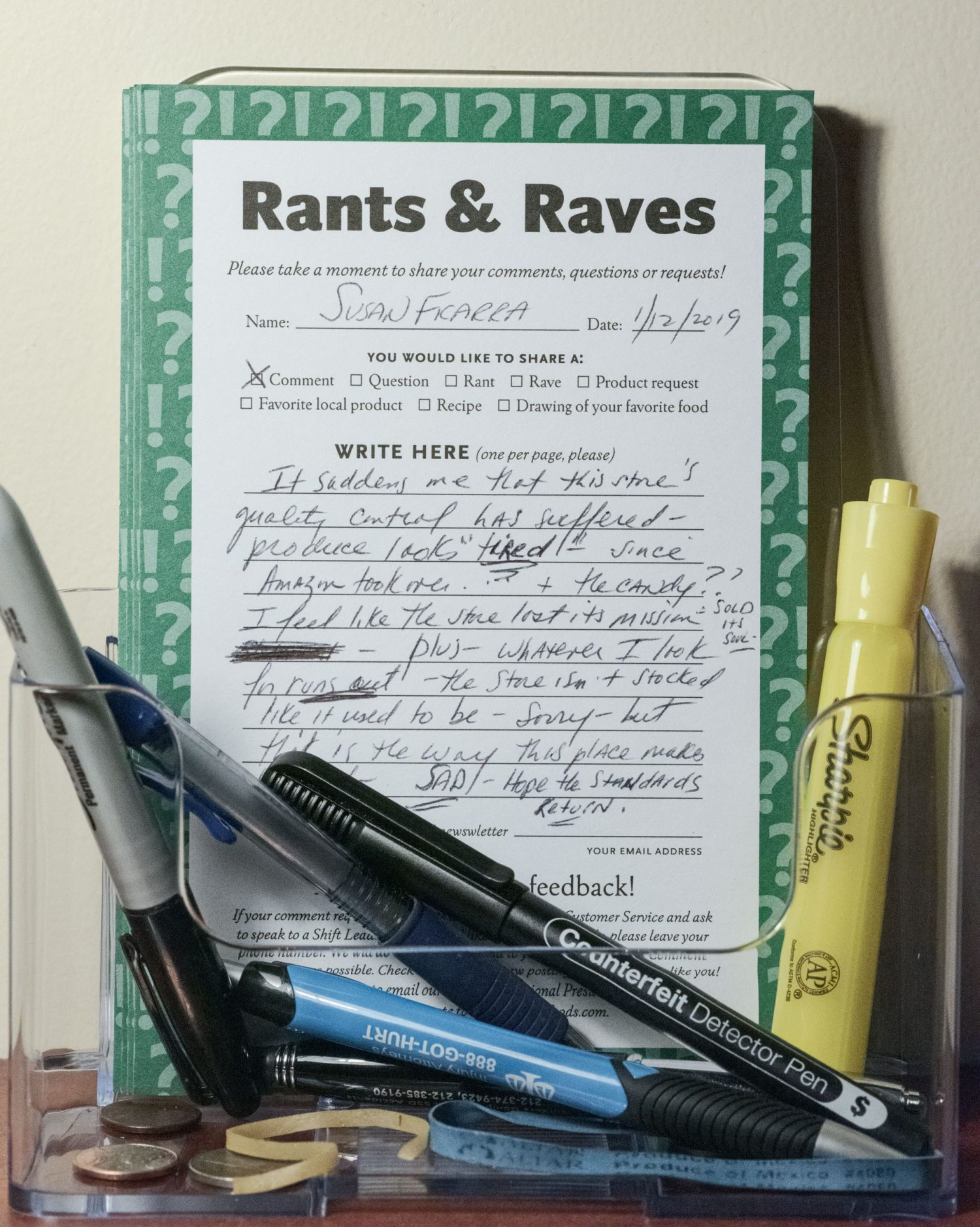 """Rants and Raves, from the series, """"Team Member"""""""