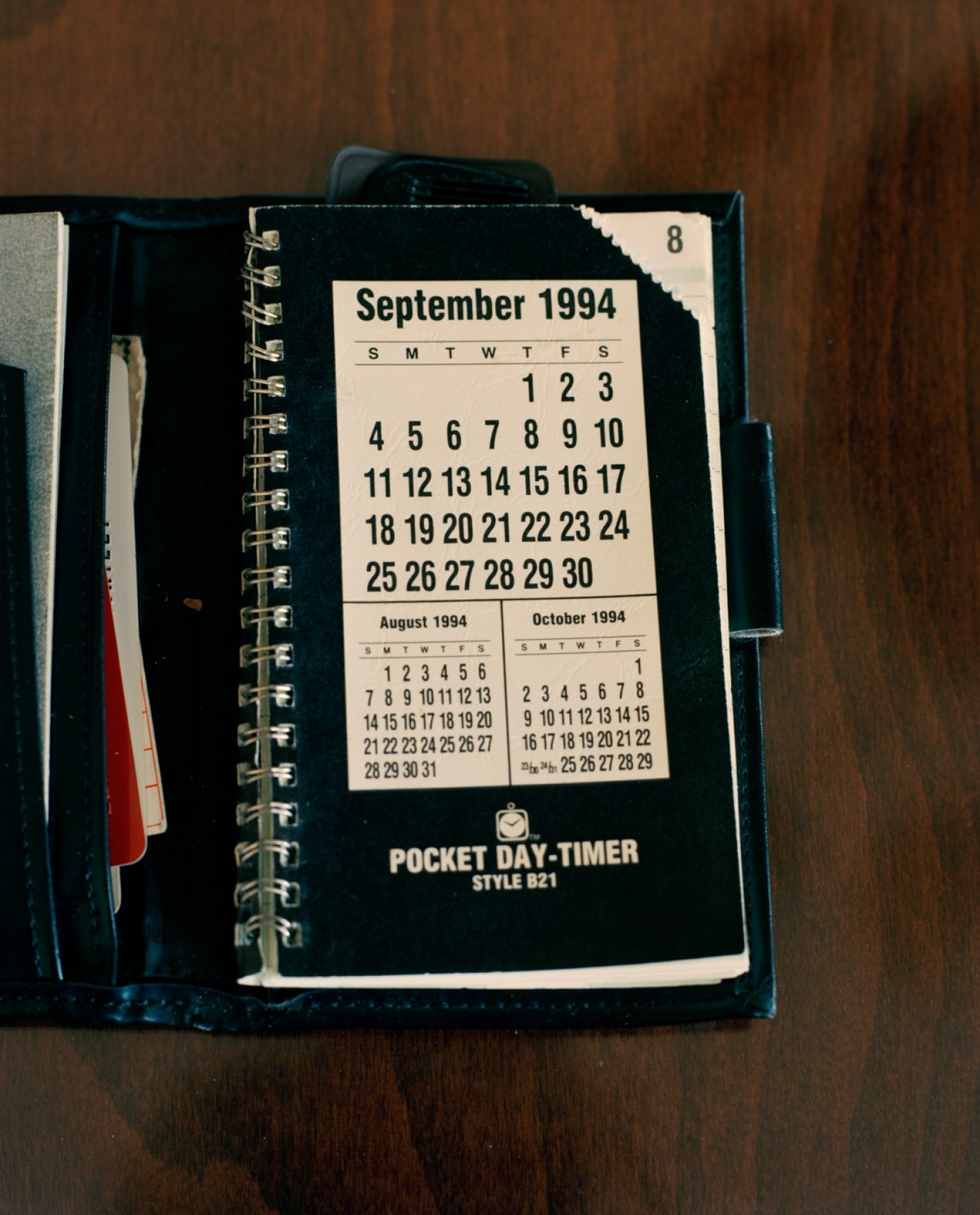 Stephen Shortley's Planner (Personal Effect), 2014