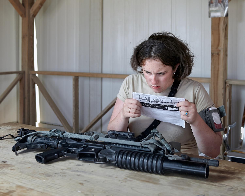 Weapon maintenance, Kandahar Airfield, 2010