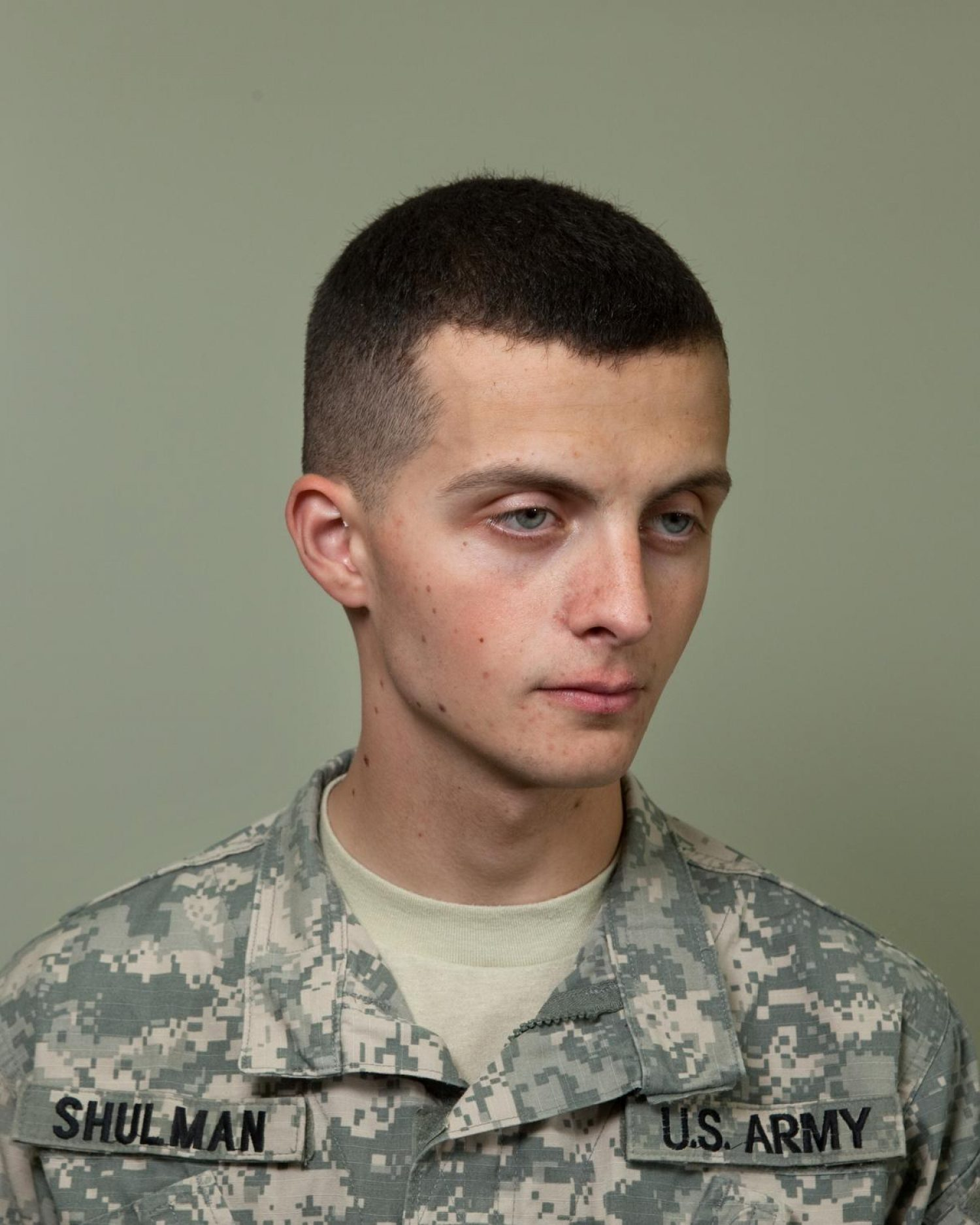 PV2 Ruslan Shulman, Mortuary Affairs Specialist, Kandahar Airfield, 2010