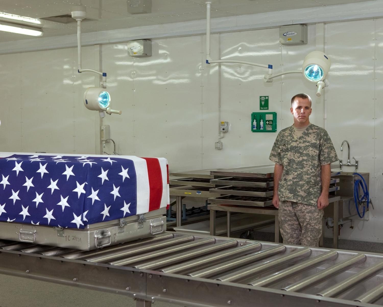 SSG Jeffrey Holden, Mortuary Affairs Specialist, Kandahar Airfield, 2010.