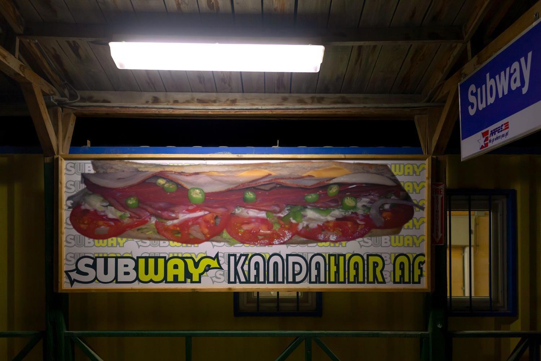 Subway Kandahar, Kandahar Airfield, 2009
