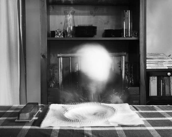 Last Breakfast, 2018, Archival inkjet print from a scanned 8x10 negative