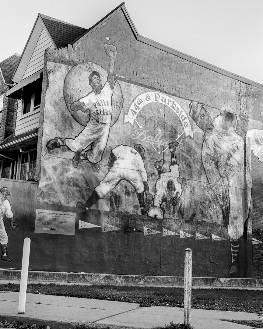 Negro League Mural